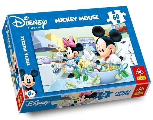 TREFL 17145 Puzzle Mickey Mouse 60 det. Paveikslėlis 1 iš 1 250710100037