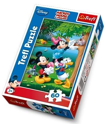TREFL 17198 Puzzle Mickey Mouse 60 det. Paveikslėlis 1 iš 1 250710100047