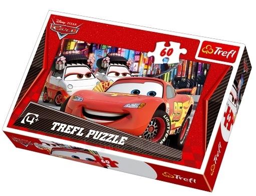 TREFL 17211 Puzzle CARS 2 60 det. Paveikslėlis 1 iš 1 250710100050