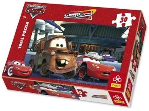 TREFL 18137 Puzzle CARS 2 30 det. Paveikslėlis 1 iš 1 250710100052