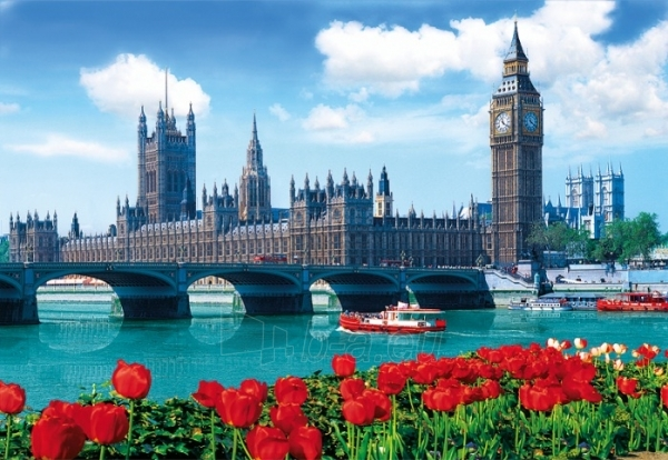 TREFL 26104 Puzzle London , Big Ben 1500 det. Paveikslėlis 1 iš 2 250710100061