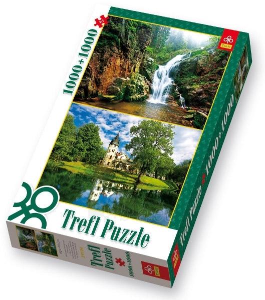 TREFL 29104 Puzzle GAMTA 1000 + 1000 det. Paveikslėlis 1 iš 1 250710100075