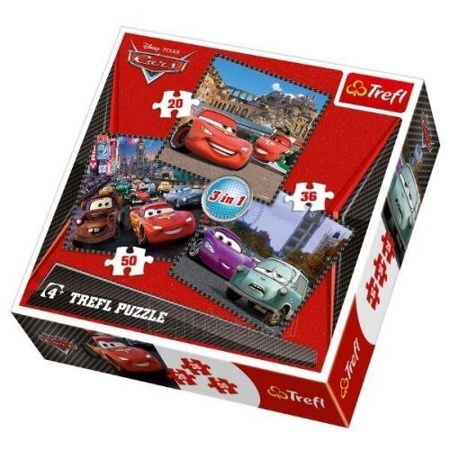 TREFL 34105 Puzzle CARS 2 (20 + 36 + 50 elementų) Paveikslėlis 1 iš 1 250710100092