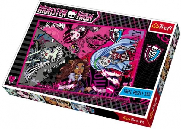 Trefl 37179 Puzzle Monster High 500 det. Paveikslėlis 1 iš 1 250710100262