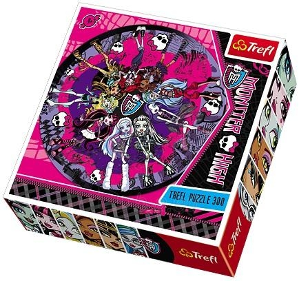 Trefl 39091 Puzzle Monster High 300 vnt. Paveikslėlis 1 iš 1 250710100271