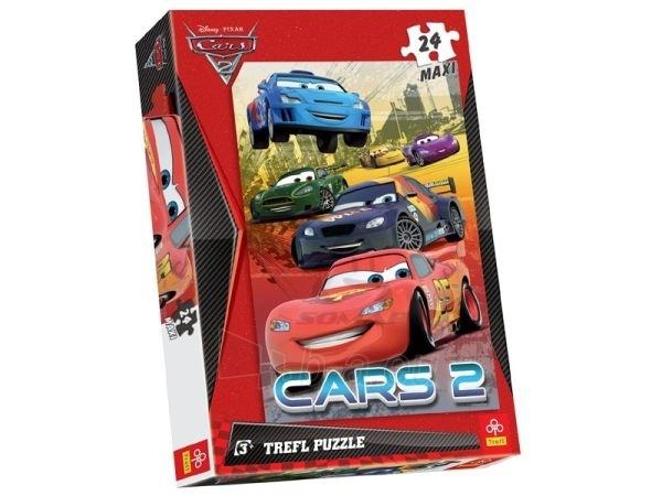Trefl Puzzle 14121 CARS 2 Lightning McQueen ir draugai Paveikslėlis 1 iš 1 250710100139