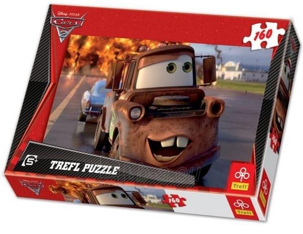 TREFL Puzzle 15195 ''Cars-2'' Метр (160 det.) Paveikslėlis 1 iš 1 250710100147