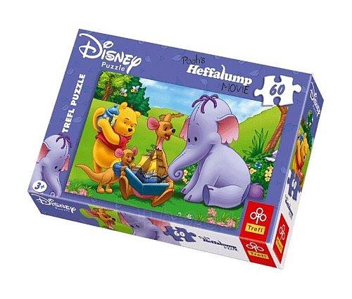 Dėlionė TREFL PUZZLE 17130 Disney Winnie the Pooh 60 det. Paveikslėlis 1 iš 1 250710100164