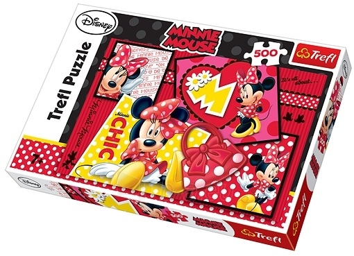 TREFL PUZZLE 37159 Mickey Mouse 500 det. Paveikslėlis 1 iš 1 250710100184