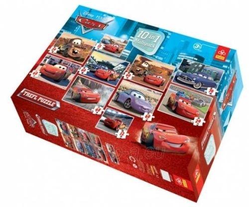 TREFL Puzzles Cars, 10 in1 nuo 3metų Paveikslėlis 1 iš 1 250710100191