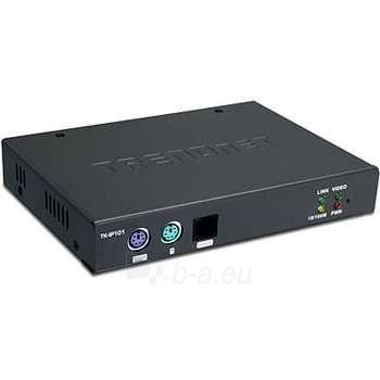 TRENDNET 1-PORT KVM SWITCH OVER IP Paveikslėlis 1 iš 1 250255080551