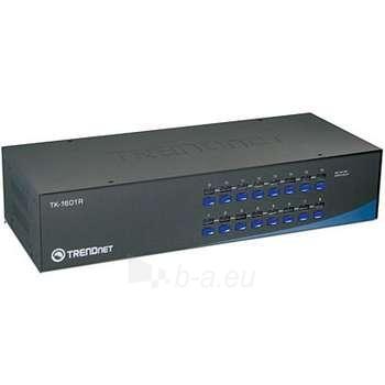 TRENDNET 16-PORT PS/2 RACK MOUNT KVM SWI Paveikslėlis 1 iš 1 250255080557
