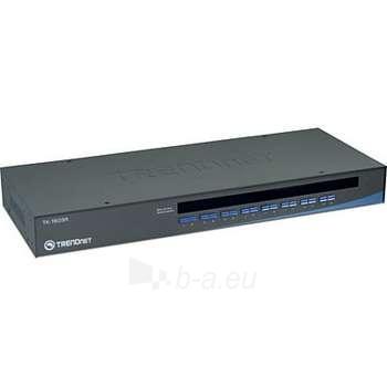 TRENDNET 16-PORT USB/PS/2 RACK MOUNT KVM Paveikslėlis 1 iš 1 250255080558