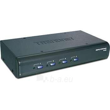 TRENDNET 4-PORT USB / PS/2 KVM SWITCH KI Paveikslėlis 1 iš 1 250255080580