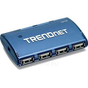 TRENDNET 7-PORT USB HUB W/POWER ADAPTER Paveikslėlis 1 iš 1 250255080654