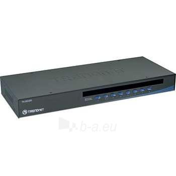 TRENDNET 8-PORT USB/PS/2 RACK MOUNT KVM Paveikslėlis 1 iš 1 250255080602