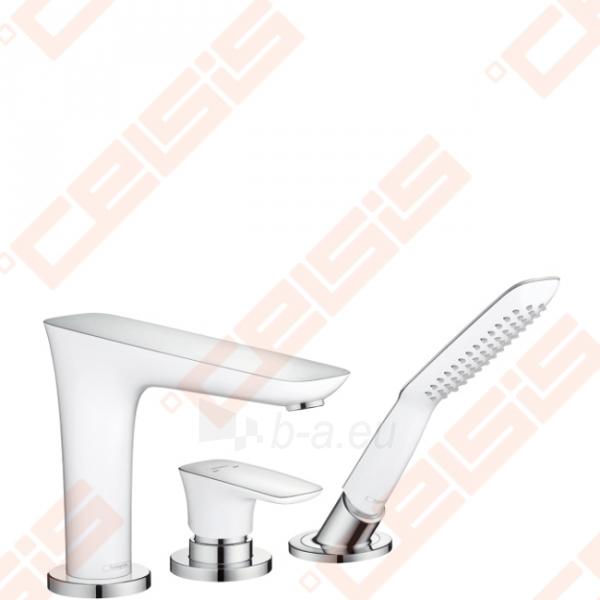 Trijų dalių vonios maišytuvas HANSGROHE PuraVida Paveikslėlis 1 iš 2 270725000412