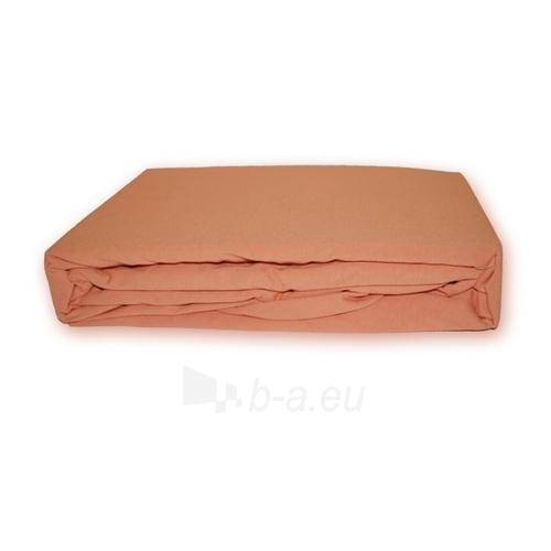 Trikotažinė paklodė su guma (Rusva), 200x220 cm Paveikslėlis 1 iš 1 30115600041