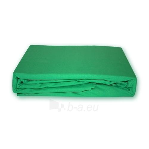 Trikotažinė paklodė su guma (Žalia), 160x200 cm Paveikslėlis 1 iš 1 30115600045