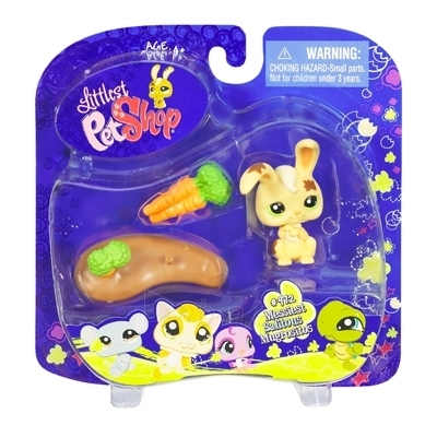 Triušiukas Hasbro 91842 LITTLEST PET SHOP Collectible Pets (Bunny) Paveikslėlis 1 iš 2 250710900338
