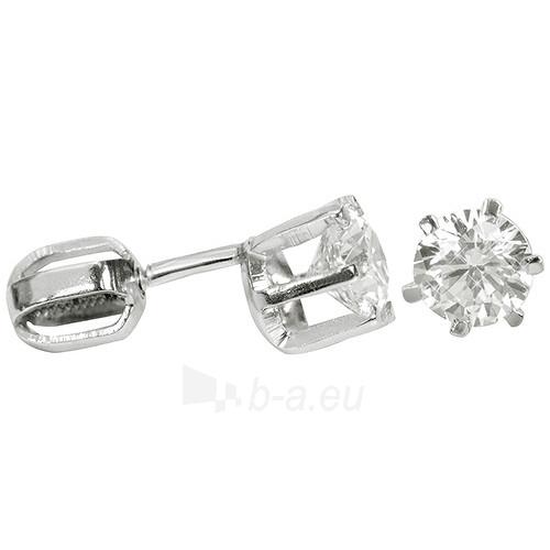 Troli sidabriniai earrings with Crystals 436 001 00174 04 Paveikslėlis 1 iš 1 310820024434