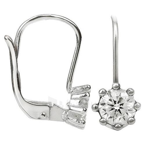 Troli sidabriniai auskarai su kristalais 436 001 00235 04 Paveikslėlis 1 iš 1 310820024408