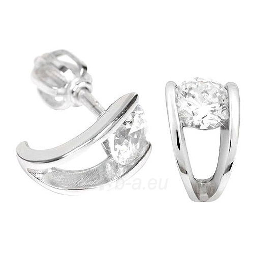 Troli sidabriniai earrings with Crystals 436 001 00237 04 Paveikslėlis 1 iš 1 310820024409