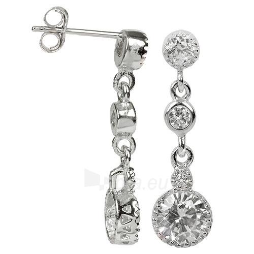 Troli sidabriniai earrings with kristalu 436 158 00062 Paveikslėlis 1 iš 1 310820024402