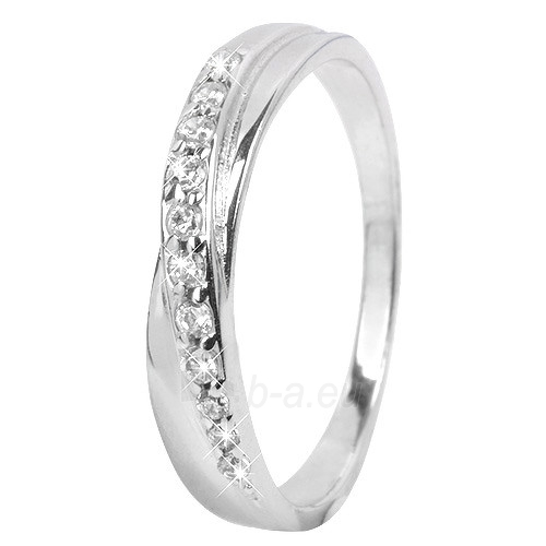 Troli Stříbrný prsten s krystaly 426 154 00380 (Dydis: 52 mm) Paveikslėlis 1 iš 2 310820005091