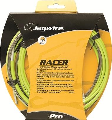 Troselių ir šarvų komplektas (pavarų ir stabdžių) Jagwire Road Pro ergon green Paveikslėlis 1 iš 1 310820020850