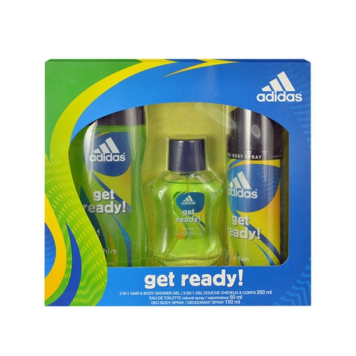 eau de toilette Adidas Get Ready! EDT 50ml (Rinkinys 9)