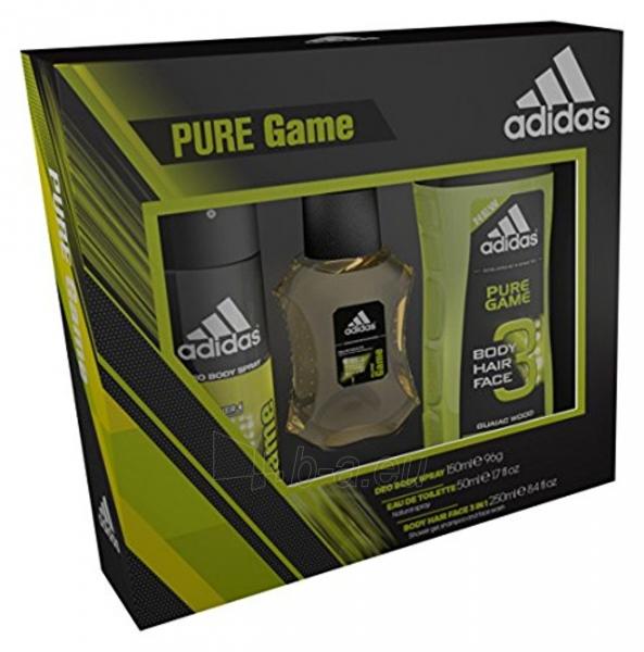 eau de toilette Adidas Pure Game EDT 100 ml (Rinkinys) Paveikslėlis 1 iš 1 aaba318037