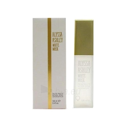 Tualetes ūdens Alyssa Ashley White Musk EDT 100ml. Paveikslėlis 1 iš 1 250811008253