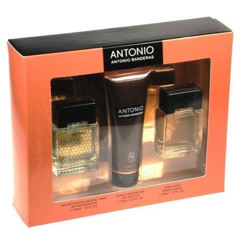 Tualetes ūdens Antonio Banderas Antonio EDT 30ml (komplekts) Paveikslėlis 1 iš 1 250812004520