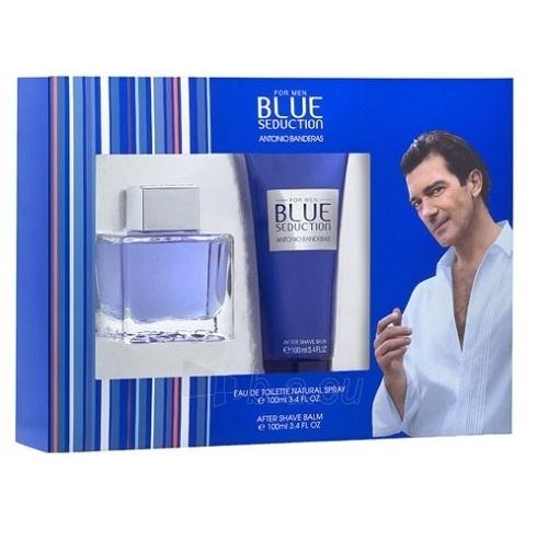 Antonio Banderas Blue Seduction EDT 100ml (set) Paveikslėlis 1 iš 1 250812004612