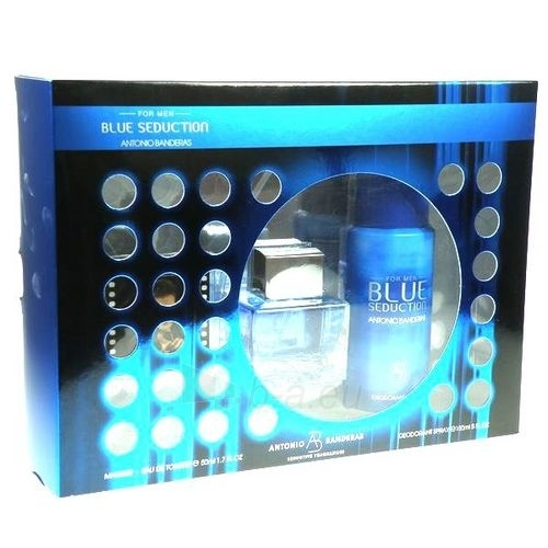 Antonio Banderas Blue Seduction EDT 50ml (set) Paveikslėlis 1 iš 1 250812001219