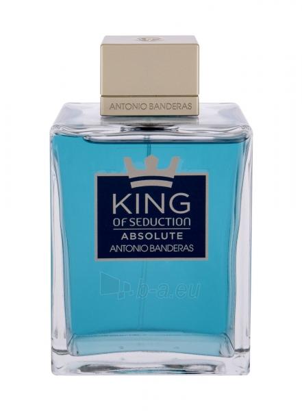 Tualetes ūdens Antonio Banderas King of Seduction Absolute EDT 200ml Paveikslėlis 1 iš 1 310820222835