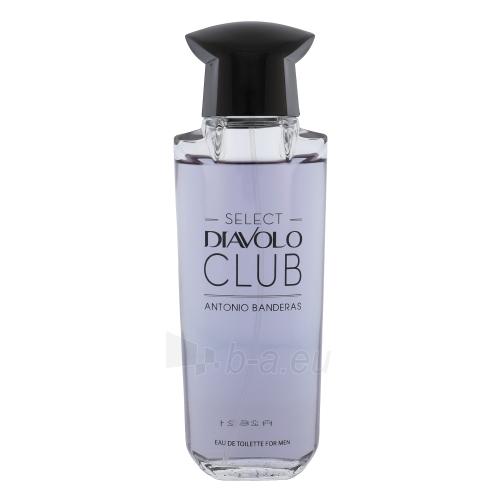eau de toilette Antonio Banderas Select Diavolo Club EDT 100ml Paveikslėlis 1 iš 1 2508120002724