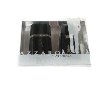 Tualetes ūdens Azzaro Silver Black EDT 100ml (komplekts) Paveikslėlis 1 iš 1 250812001489