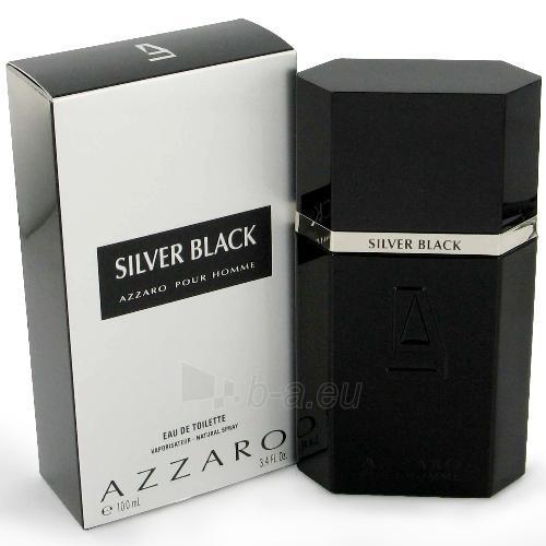 Tualetes ūdens Azzaro Silver Black EDT 50ml (testeris) Paveikslėlis 1 iš 1 250812001334