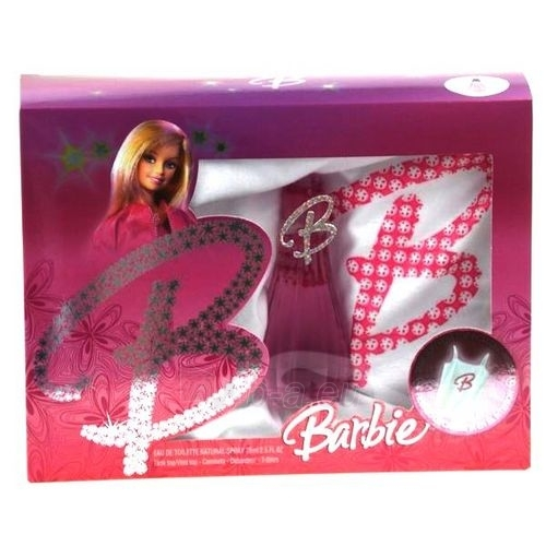 Tualetes ūdens Barbie B EDT 75ml (komplekts) Paveikslėlis 1 iš 1 250811008424