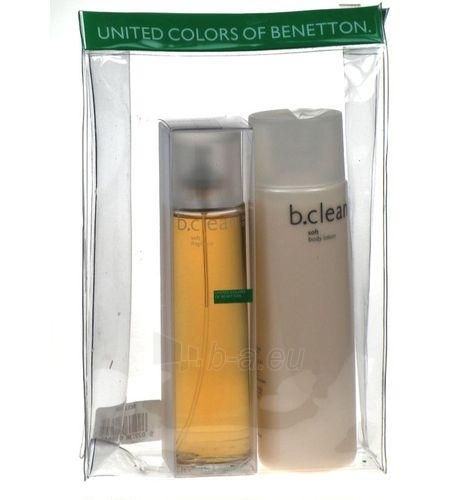 Tualetinis vanduo Benetton Be Clean Soft EDT 100ml (Rinkinys) Paveikslėlis 2 iš 2 250811008441