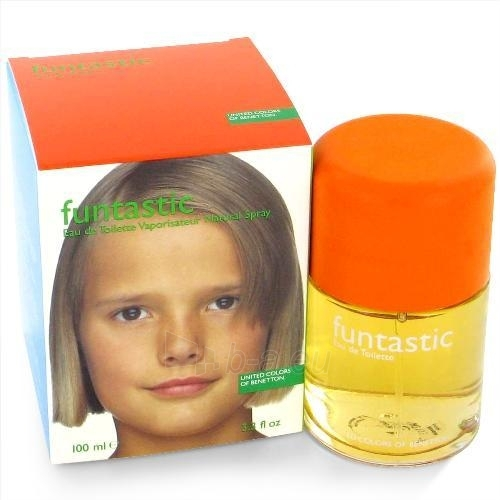 Tualetinis vanduo Benetton Funtastic Girl EDT 100ml (Eau de Toilette) Paveikslėlis 1 iš 1 250811008450