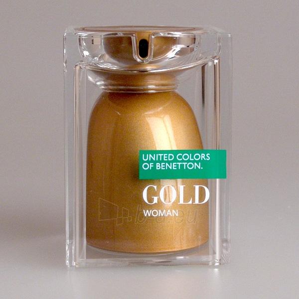 Benetton United Colors Gold 75ml EDT Paveikslėlis 1 iš 1 250811008489