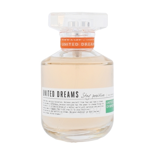 Perfumed water Benetton United Dreams Stay Positive EDT 80ml Paveikslėlis 1 iš 1 310820042567