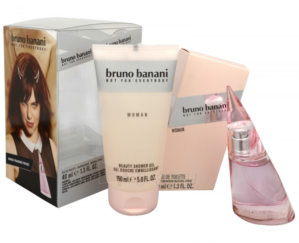 Tualetinis vanduo Bruno Banani Bruno Banani Woman EDT 40 ml (Rinkinys) Paveikslėlis 1 iš 1 250811014819