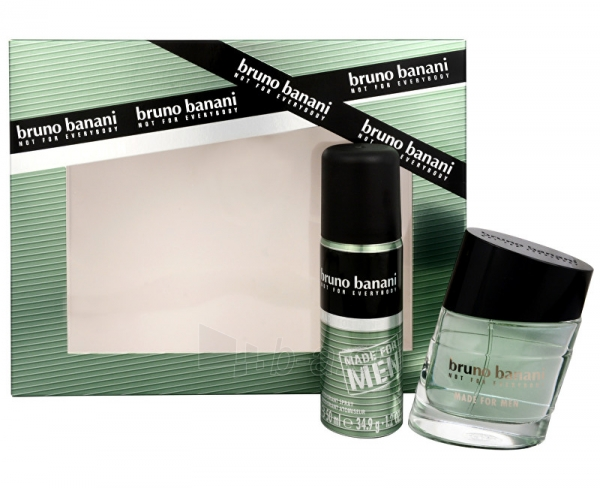 Tualetes ūdens Bruno Banani Made For Men EDT 30 ml + dezodorants 50 ml Paveikslėlis 1 iš 1 310820050468