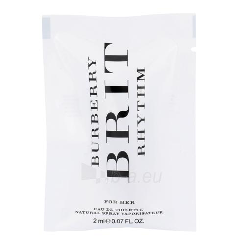 Tualetes ūdens Burberry Brit Rhythm EDT 2ml Paveikslėlis 1 iš 1 310820012623