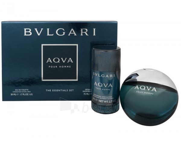 eau de toilette Bvlgari Aqva Pour Homme EDT 50 ml (Rinkinys) Paveikslėlis 1 iš 1 310820018698