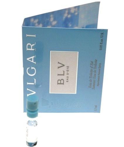 Tualetinis vanduo Bvlgari BLV Eau d`Ete EDT 1,5ml (mėginukas) Paveikslėlis 1 iš 1 250811008592